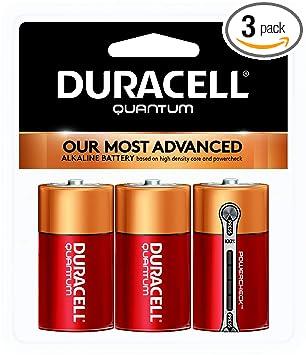 Amazon.com: Duracell QU1400B3RFP Quantum - Pilas alcalinas C ...