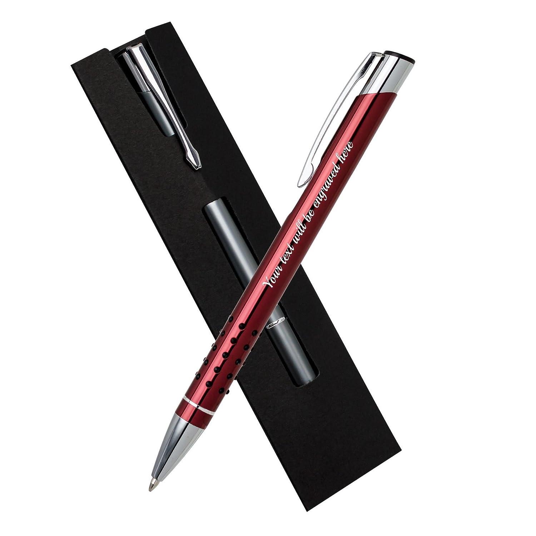 Regalos personalizados baratos Bolígrafo Rojo con Negro ...
