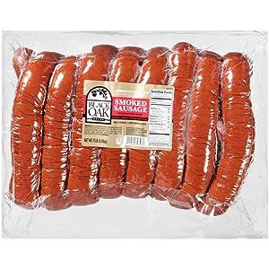 Sara Lee Hillshire Farms Endless Black Oak Smoked Sausage, 11 Pound -- 1 each.