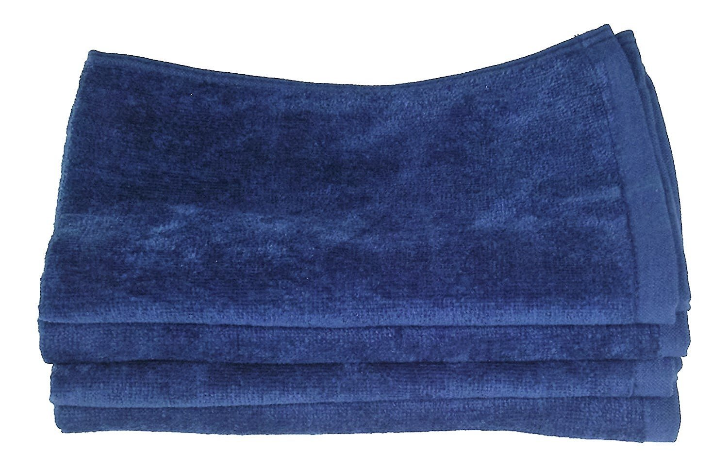 Fingertip Towels 100% Cotton - Terry-Velour _4 _ Pack 11