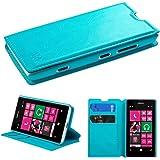 MYBAT MyJacket Wallet with Tray for Nokia Lumia 521 - Retail-Packaging - Blue