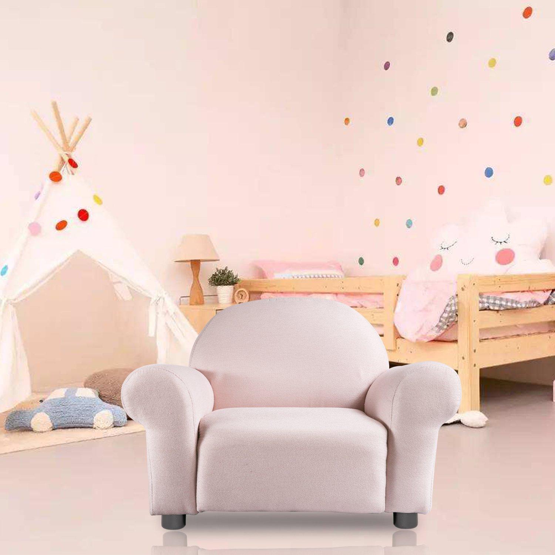 Harper&Bright Designs Roundy Kid's Sofa Chair (Pink)