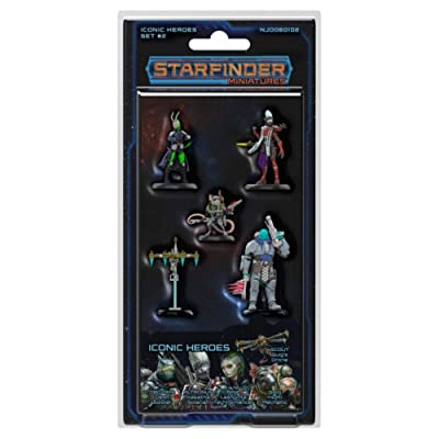 SFRPG Mini: Iconic Heroes Set 2: Toys & Games