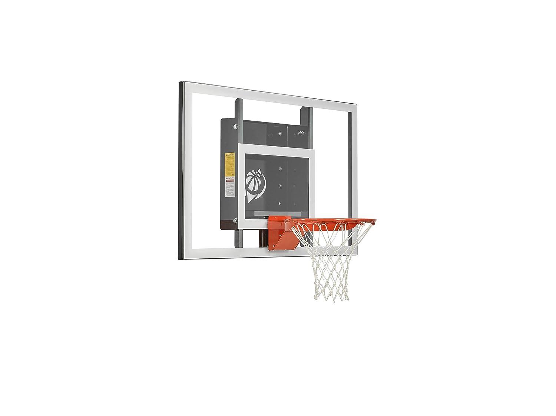 Goalsetter gs54ベースライン固定高さ壁マウントバスケットボールフープ   B00DNQQK7K