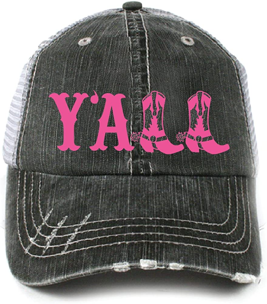KATYDID Y'all Southern Country Women's Trucker Hat Cap