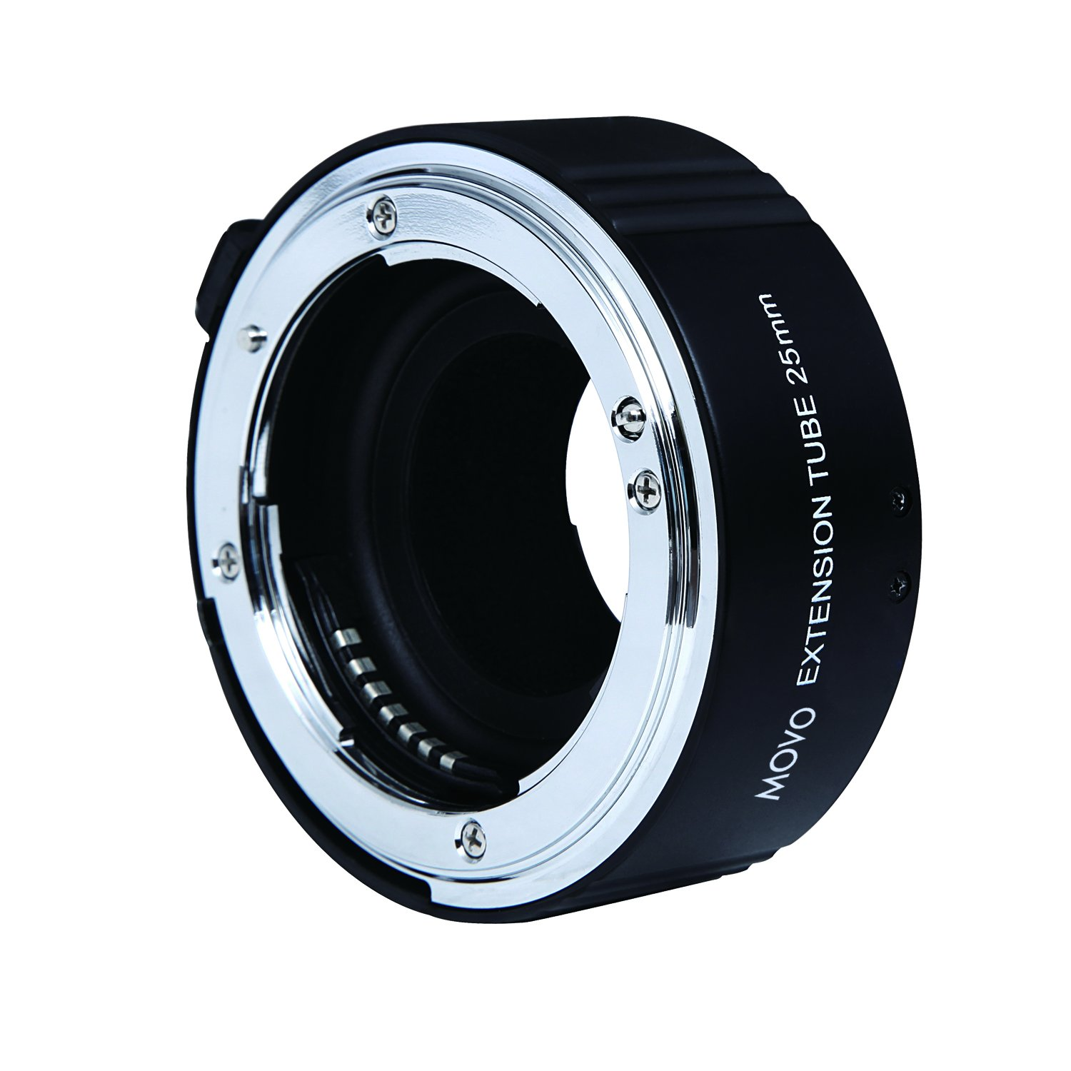 Movo Photo AF 25mm Macro Extension Tube for Nikon DSLR Camera (Metal Mount) by Movo