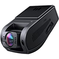 Aukey 4K Car Dashboard Camera Recorder with HDR and 6-Lane 157-Degree Wide-Angle Lens, Loop Recording, G-Sensor, and Additional 2-Port USB Car Charger
