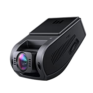 AUKEY 4K Dash Cam with 6-Lane Wide-Angle Lens Dashboard Camera Recorder with HDR, Loop Recording, G-Sensor, and Additional 2-Port USB Car Charger