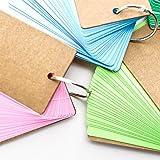 Hraindrop 420 Pieces Multicolor Kraft Paper Binder