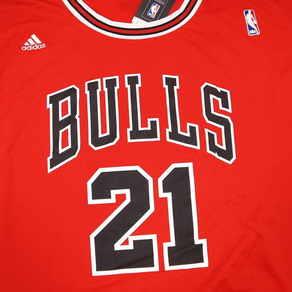 d09b9e031 Amazon.com   Jimmy Butler Chicago Bulls NBA Adidas Men s Red Official  Replica Jersey (5XL)   Sports   Outdoors