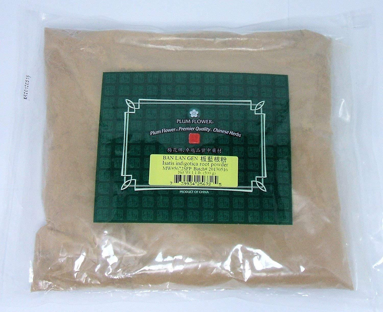 Isatis or Woad Root Powder / Ban Lan Gen / Isatis Indigotica, 1lb or 500g Bulk Herb Powder by Mayway