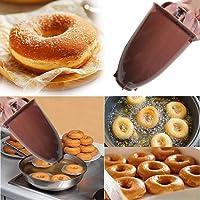 Hukz Donut Maker Maschine Form, Donuts und Cakepops Donut Muffin Cake Teigspender Pop Maker Küche DIY Werkzeug für Selbstgemachte Donuts