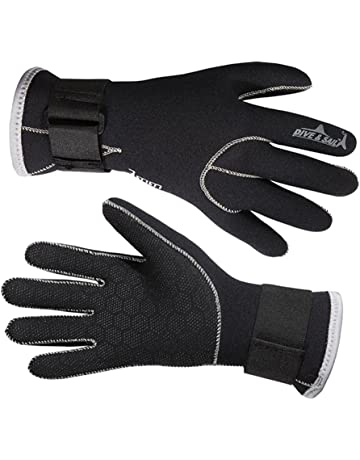 ac2c25127e Aogolouk High quality 3mm Neoprene Scuba Diving Gloves with Magic buckle  belt Snorkeling Spearfishing Water Sports