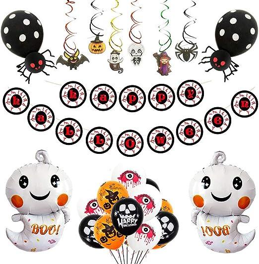 Globo Lámina De Halloween Boo