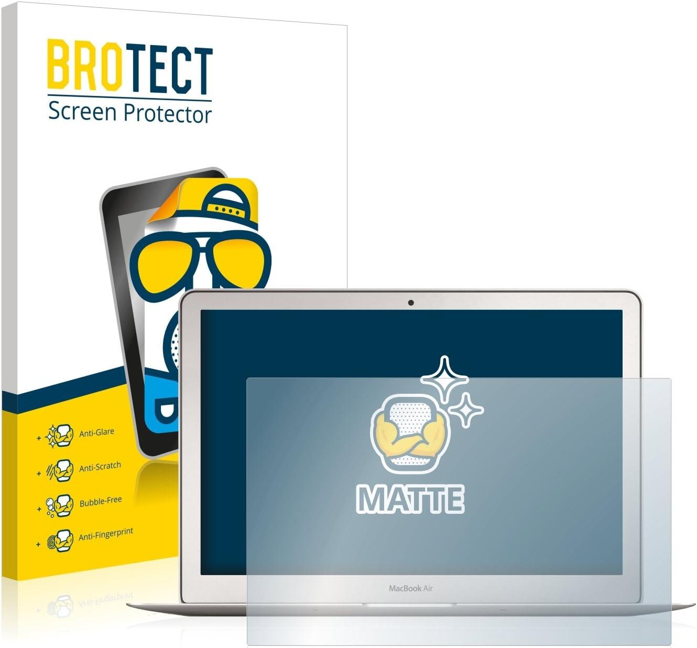 2 Pezzi Inizio 2015 brotect Pellicola Protettiva Opaca Compatibile con Apple MacBook Air 13 Pellicola Protettiva Anti-Riflesso