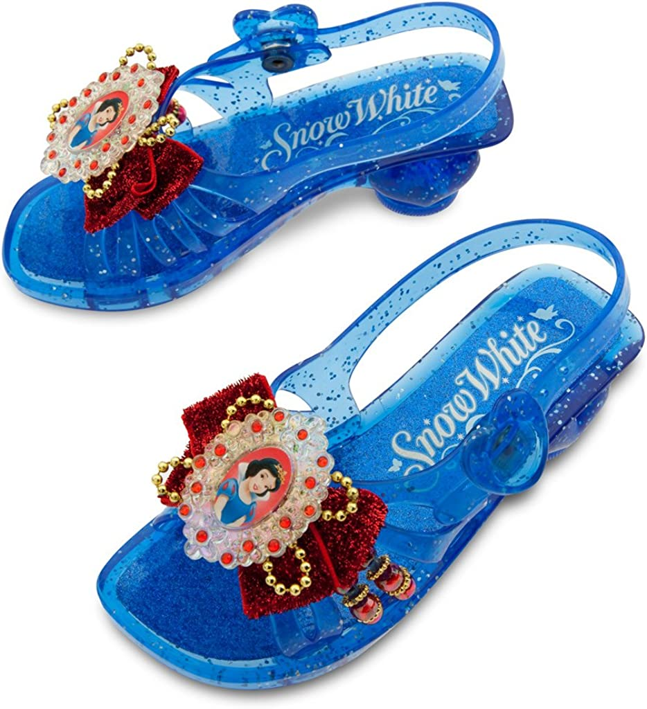 Deluxe Snow White Light up Shoes Heels