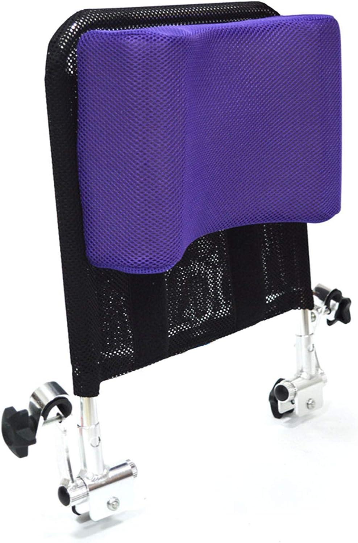 Soporte para el cuello del reposacabezas de la silla de ruedas Cómodo cojín del cojín del respaldo del asiento, acolchado ajustable para adultos de sillas de universales portátiles, 16