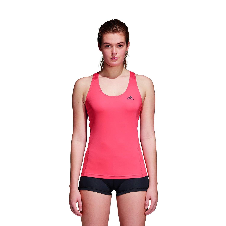 TALLA XL. adidas Ask SPR Top Tk Camisa de Golf, Mujer