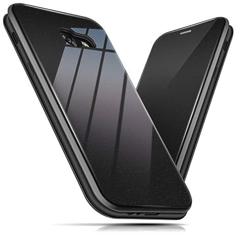 BEZ Funda para Samsung A5 2017, Carcasa de Teléfono Wallet Flip Case para Samsung Galaxy A5 2017, Protectora Tipo Estuche Brillante, Cierre Magnético, ...