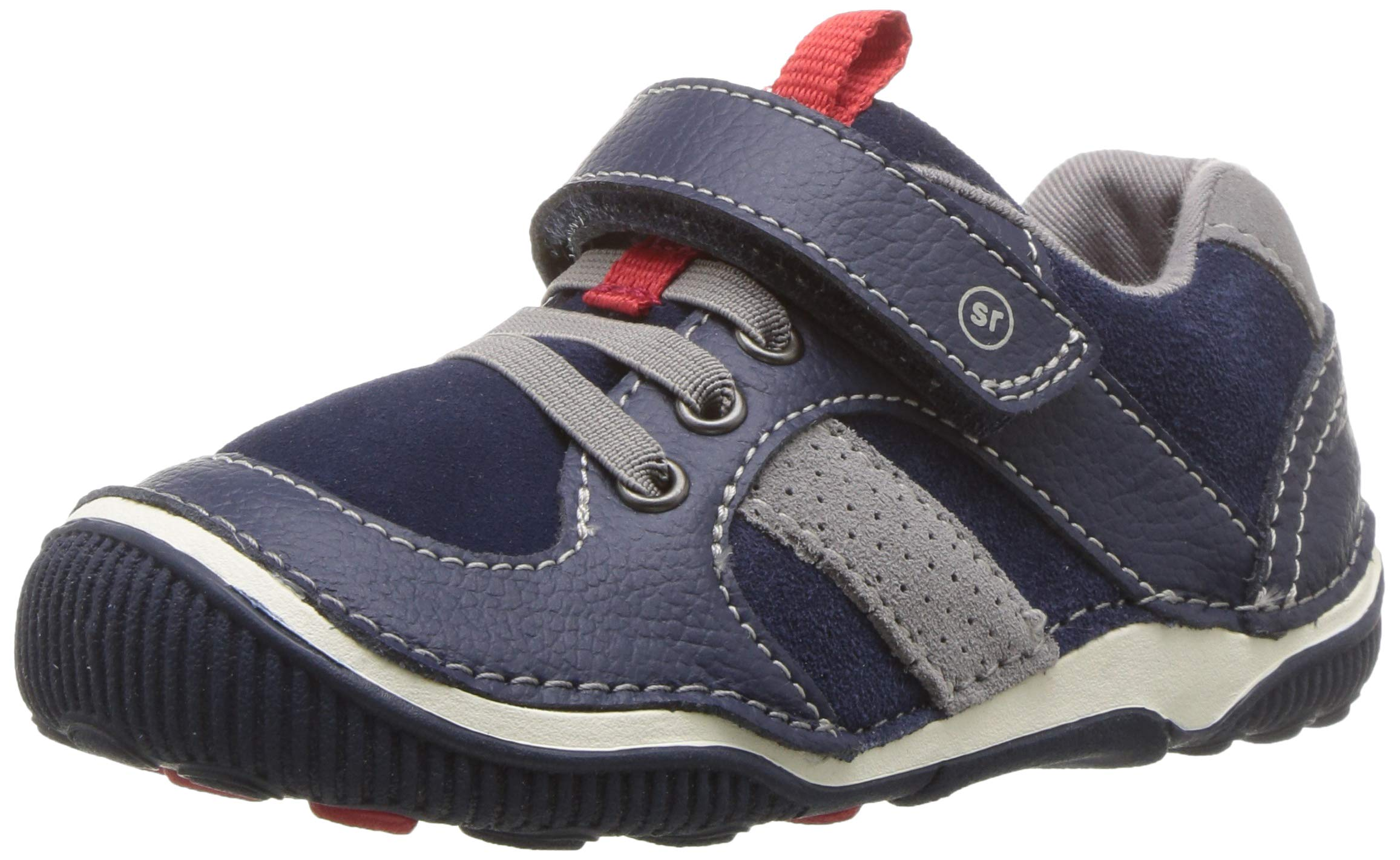 Stride Rite Boys' SRT Wes Casual Sneaker, Navy 8 W US Toddler
