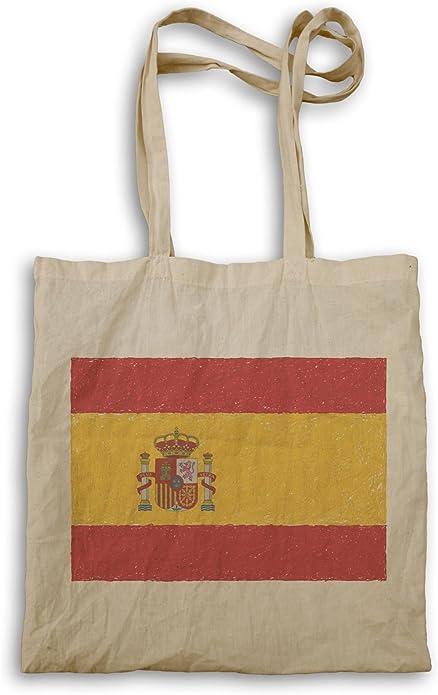 INNOGLEN Nueva Bandera De España Arte bolso de mano i221r: Amazon.es: Zapatos y complementos