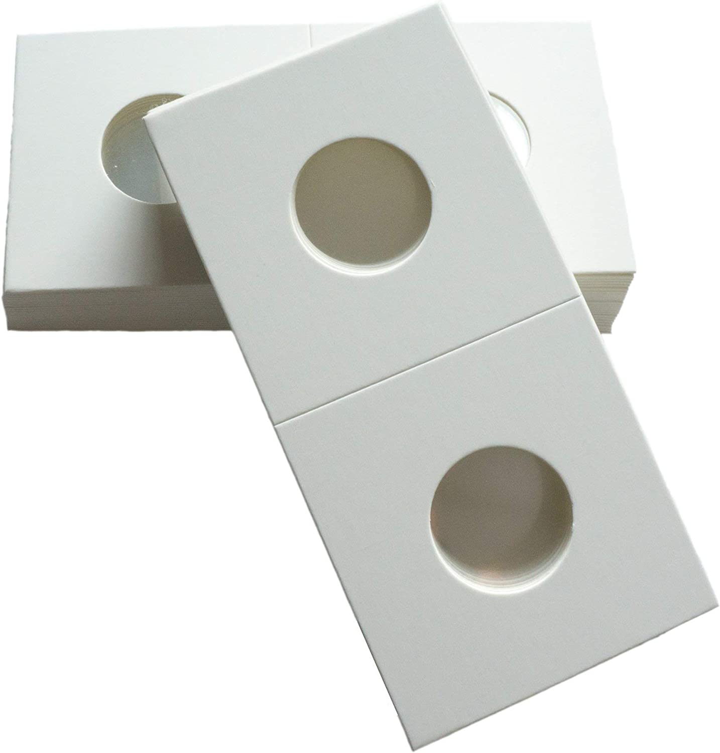 100 Guardhouse Cent//Penny 2x2 Paper Staple Coin Holder Quality and Safety