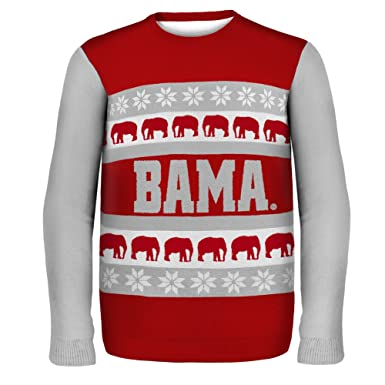 Alabama Crimson Tide Ugly Christmas Sweater - L - crimson at ...