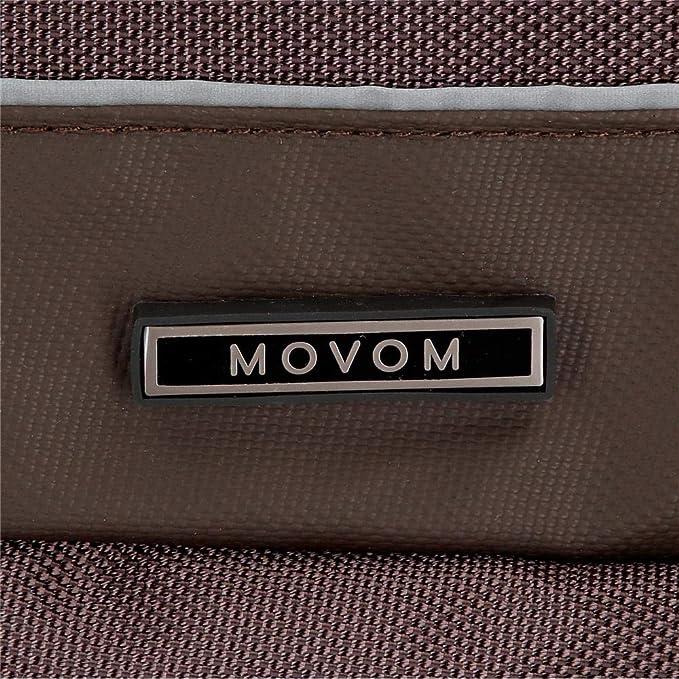 Movom Clark Borsa Messenger 27 centimeters 5.94 Marrone