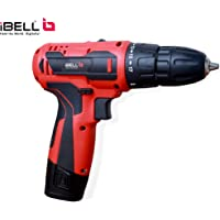 iBELL Cordless Driver Drill CD12-74, 12-Volts (2 Battery+BMC Box+Extra 2 Sides Screw Driver Head)