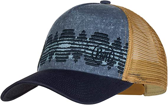 Buff Trucker Cap One size mens Dark Grey