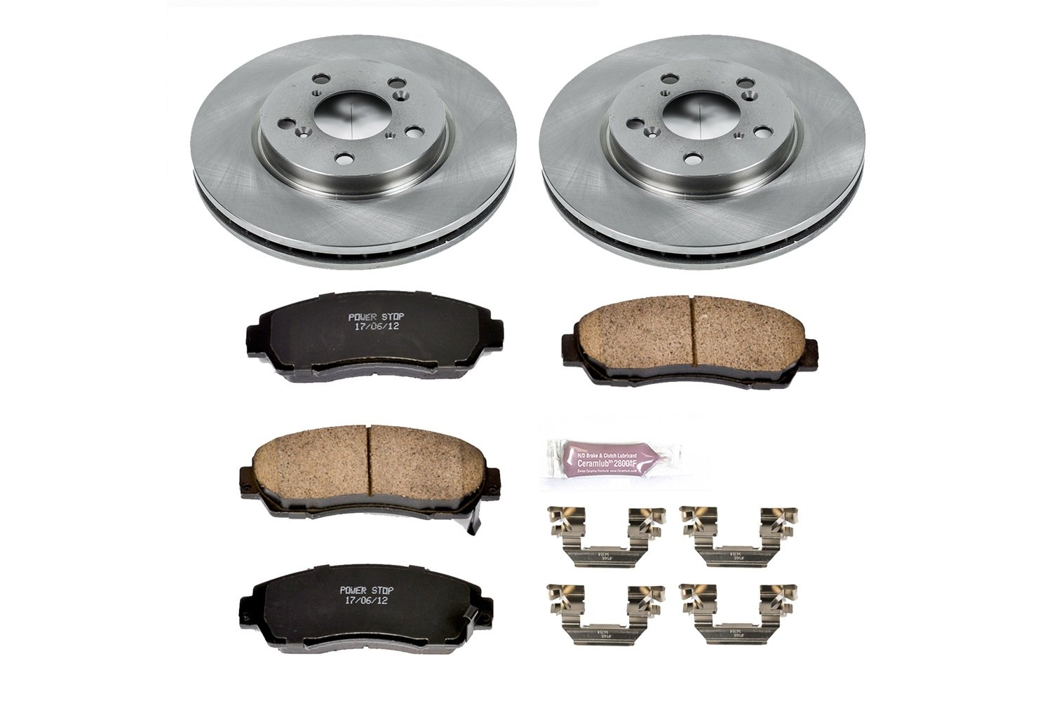 Autospecialty 1-Click OE Replacement Brake Kit Power Stop KOE2435
