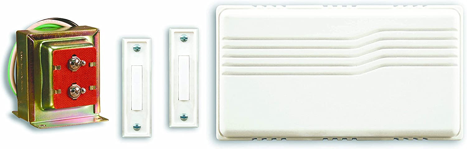 Heath Zenith SL-27102-02 Doorbell Contractor Kit, White