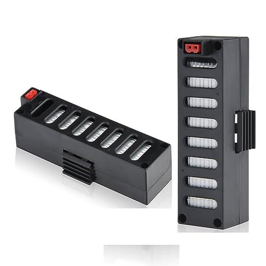 Kintoys 3.7V 500mAh Lipo Baterías para JD-018 Drone Batería de ...