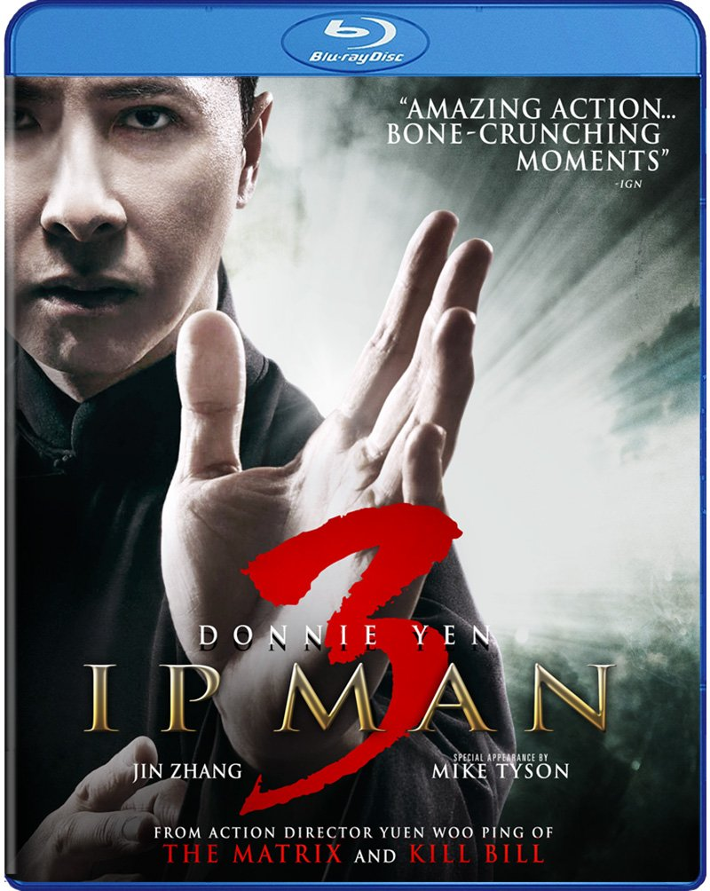 Amazon.com: Ip Man 3 [Blu-ray]: Donnie Yen, Mike Tyson, Lynn Hung ...