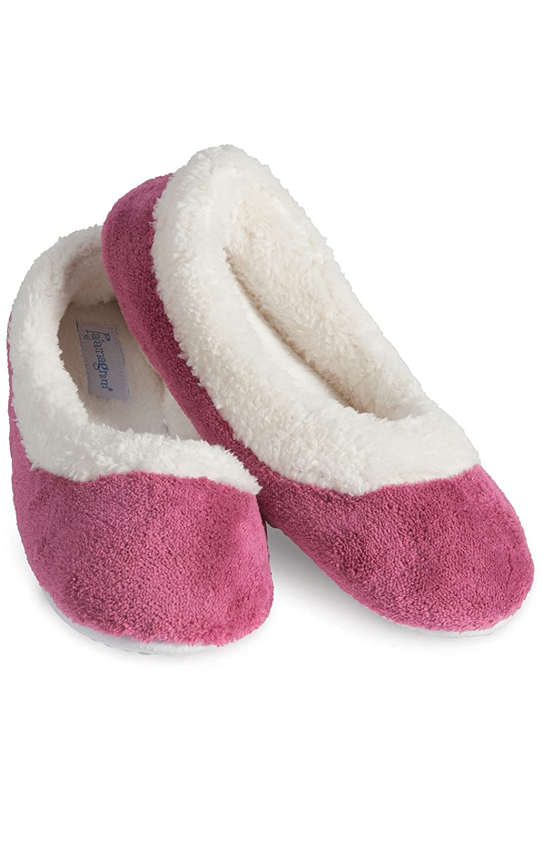 PajamaGram Women's Super Soft Fleece Slippers The Pajamagram Company GAMV05550
