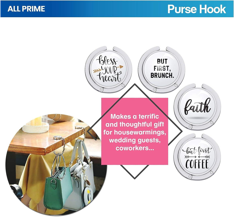 alle Prime Purse Hook für Tables - 5 Unique Designs - Purse Hangers