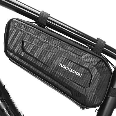 ROCKBROSフレームバッグ 自転車 バッグ トップチューブ 防水 大容量 1.5L/2.5L両側開き