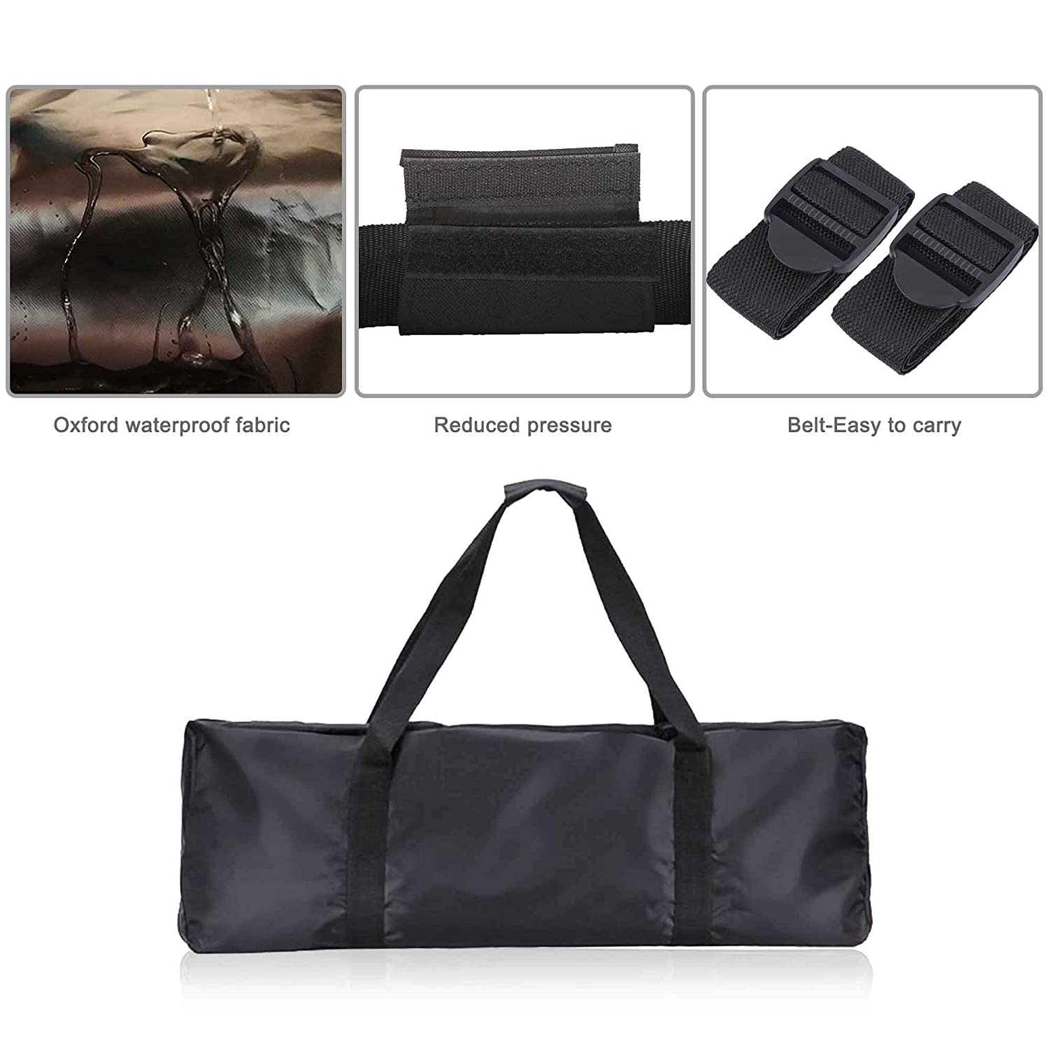 TOMALL Portable Waterproof Handbag Folding Storage Bag Carrying Bag for XIAOMI Mijia M365 Electric Scooter 110 × 45 × 50cm Scooter Carrying Bag ...