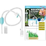 Genuine TERA PUMP Aquarium Cleaner Aquarium Fish Tank Gravel Sand Cleaner with Long Nozzle N Water Flow Controller - BPA…