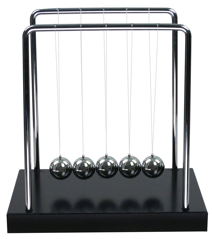 Amazon BOJIN Classic Newton Cradle Balance Balls Science