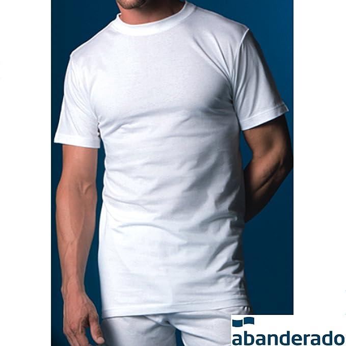 Abanderado - Camiseta Manga Corta 76 Hombre Color: BL Talla: 48