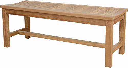 Anderson Teak Madison Backless Bench Without Cushion