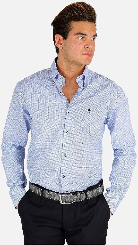 FB CLASS - Camisa de fantasía para hombre turquesa XX-Large: Amazon.es: Ropa y accesorios