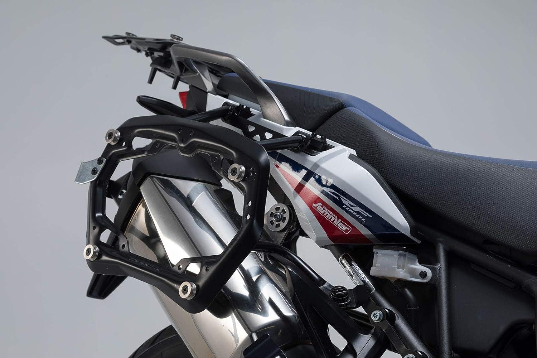 Sw Motech Pro Seitenträger Offroad Version Schwarz Für Honda Crf1000l Africa Twin 15 17 Auto