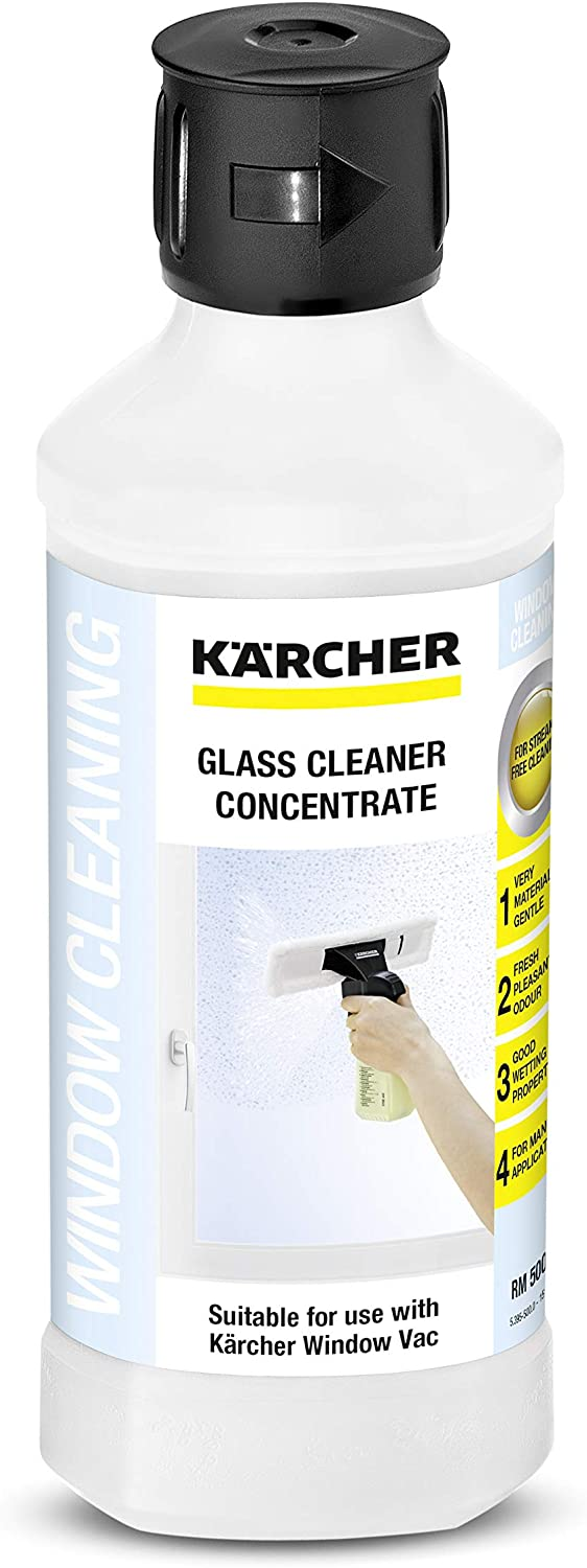 Kärcher 500ml Glass Cleaning Concentrate For Window Vac