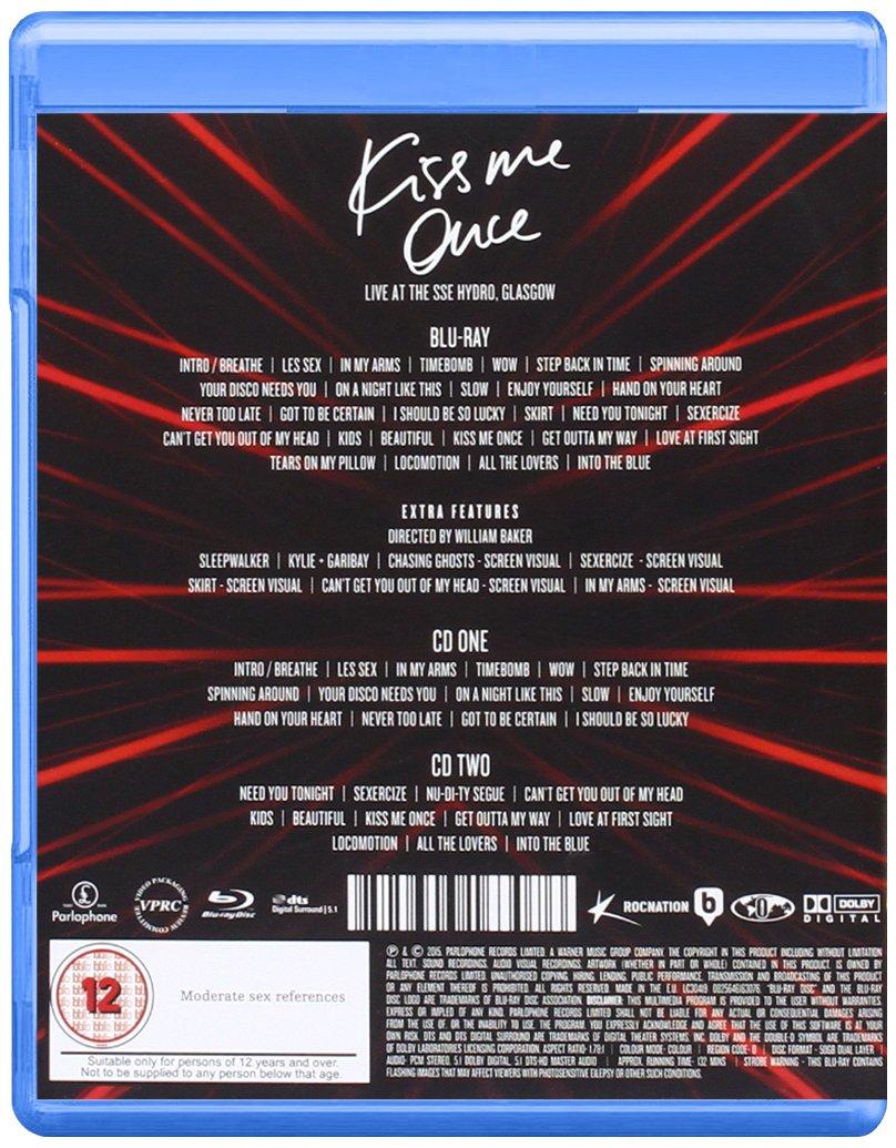Kiss Me Once Tour: Kylie Minogue: Amazon.es: Música