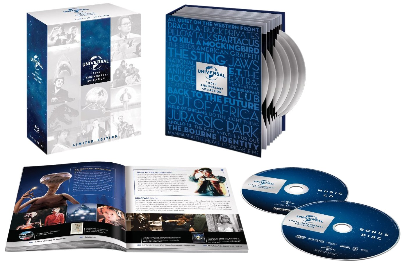 Amazon.com: Universal 100th Anniversary Collection (DVD ...