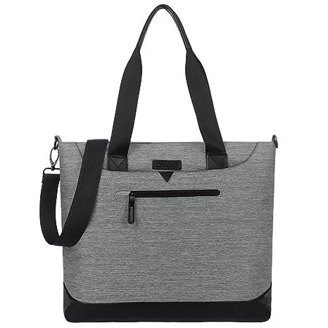624d1167aed Women Laptop Bag 15.6 Inch, DTBG Nylon Multifunctional Classic Work Travel Messenger  Shoulder Bag Office