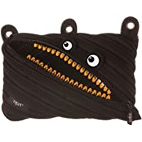 ZIPIT Grillz 3-Ring Pencil Case, Black