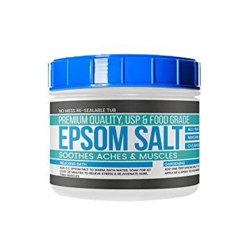 by Earthborn Elements, Resealable Tub, Magnesium Sulfate